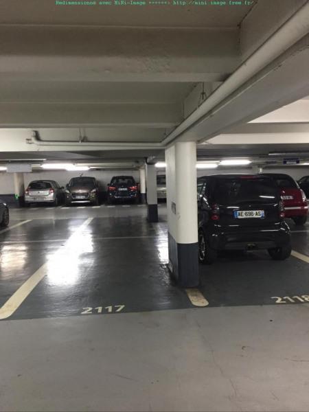 location parking 1 mois paris