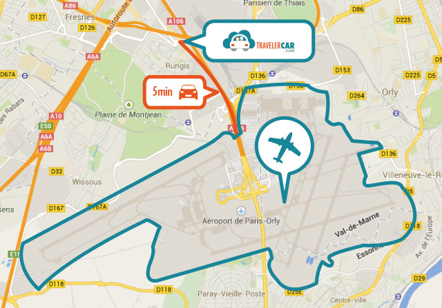 location parking a orly
