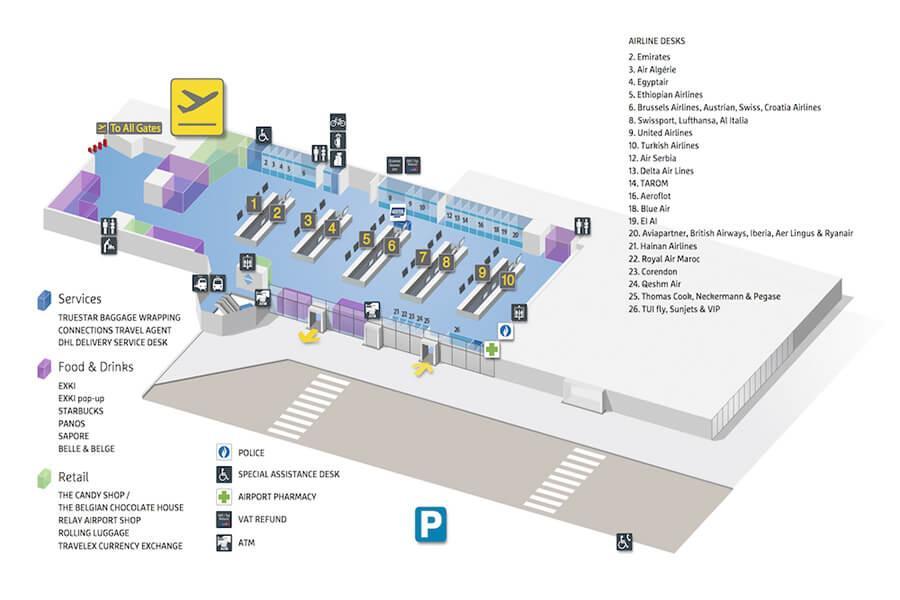 location parking aeroport zaventem