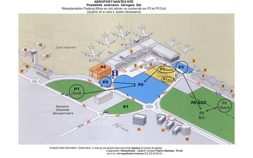 place parking aeroport nantes location vente de parking