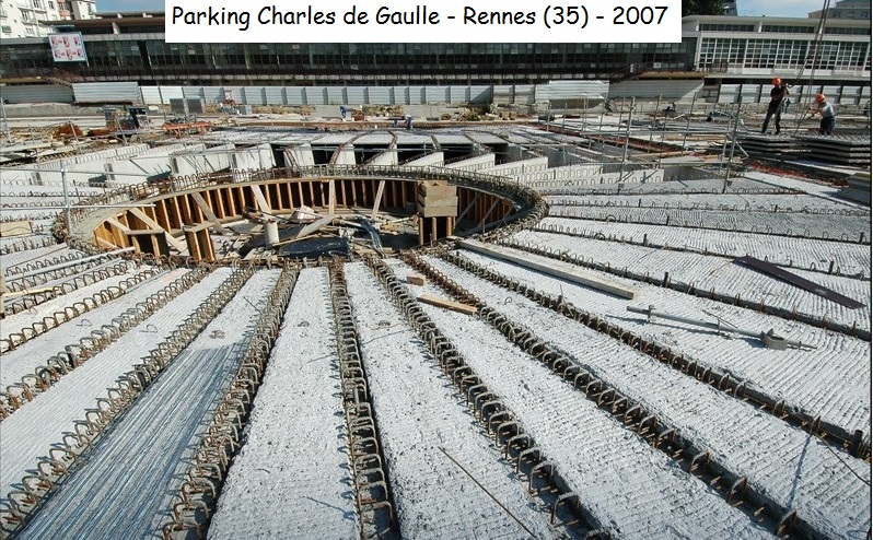 place parking charles de gaulle rennes