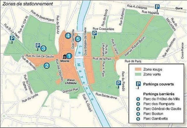 place parking gratuit rennes