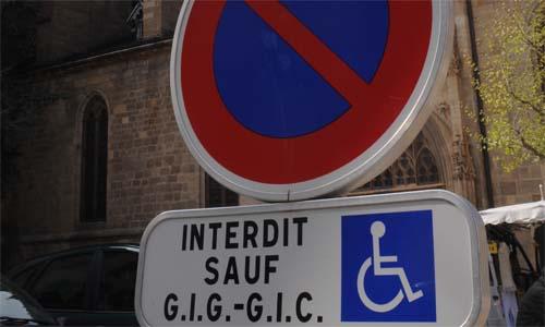 place parking handicape barcelone