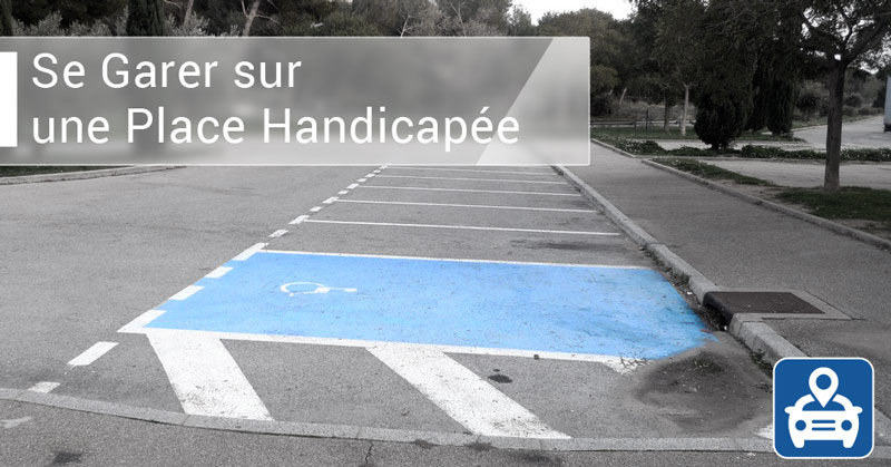 place parking handicape residence prive