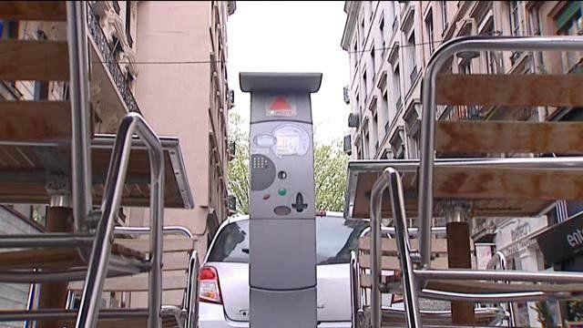 place parking lyon temps reel