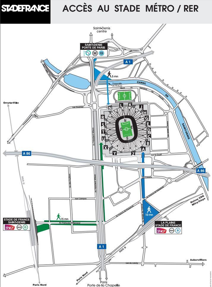 place parking u2 stade de france