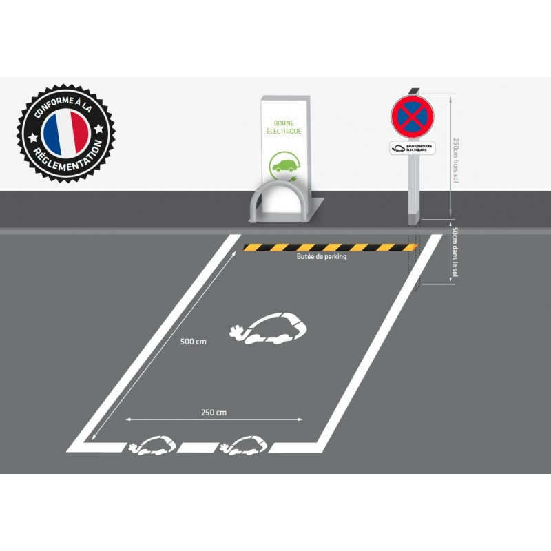 place parking vehicule electrique