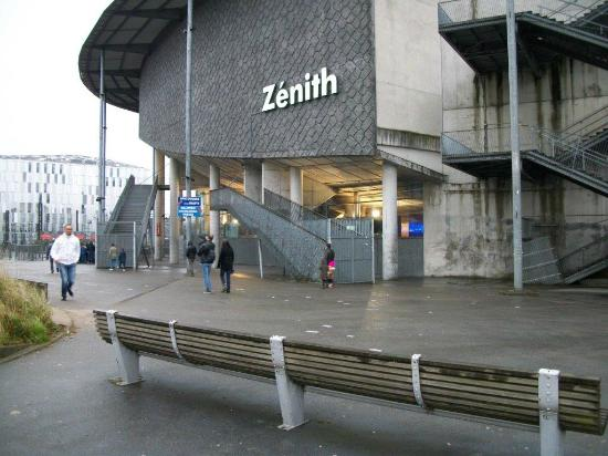 place parking zenith lille