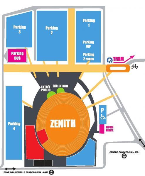 place parking zenith