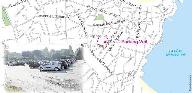 vente parking dinard
