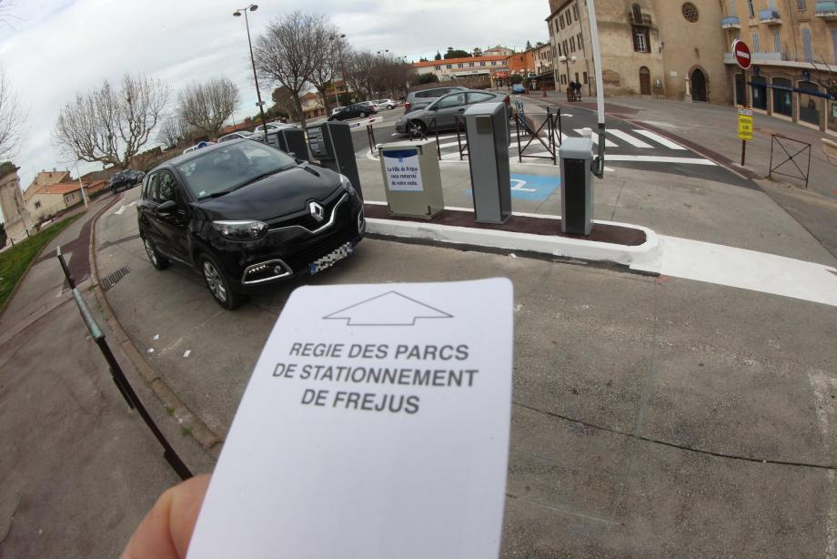vente parking frejus